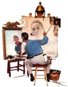 norman-rockwell-autoportrait-236x300