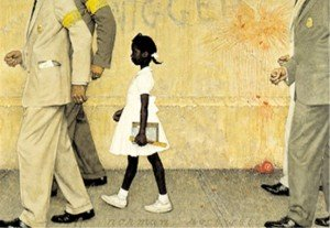 The Problem we all live with - NORMAN ROCKWELL 1964  rockwell02-300x207